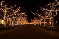 Подключение освещения зданий в Ростове-на-Дону