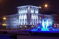 освещение фасадов в Ростове-на-Дону